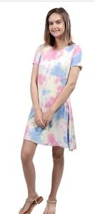 NWT Simply Southern tie dye dress